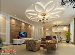 Small Picture Stylish modern ceiling designs for living room with TV and white