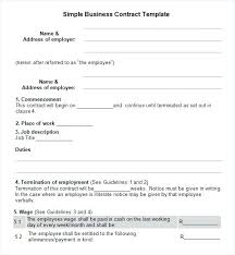 Two Party Contract Template Adorable Simple Contract Template Between Two Parties Stormcraftco