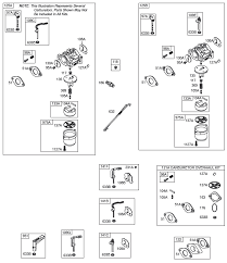 briggs and stratton 4 5 hp engine diagram briggs automotive briggs and stratton 203400 carburetor diagram