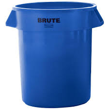 20 gallon bucket. Rubbermaid Commercial Products BRUTE 20 Gal. Blue Round Trash Can Gallon Bucket H
