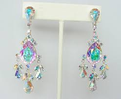 55 rhinestone earrings earrings chandelier earrings large crystal rhinestone earrings organiccollective org