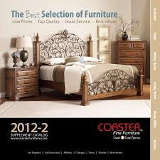 2012 2 Coaster Supplement Catalog by Coaster pany of America