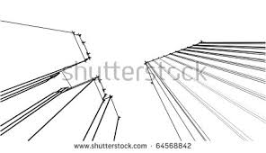 stock vector urban sketch 64568842 perspective drawing stock images, royalty free images & vectors on 3 point perspective template