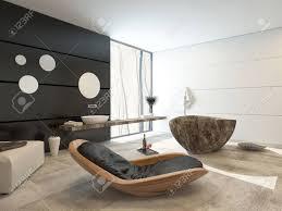Modernes Design In Einem Luxus Badezimmer Interieur Mit Einem
