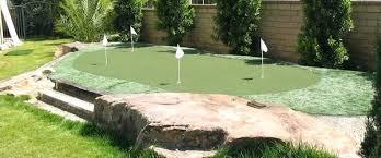 interesting diy backyard putting green backyard