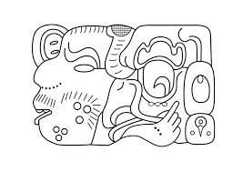 Kleurplaat Maya Kunst Afb 27458 Images