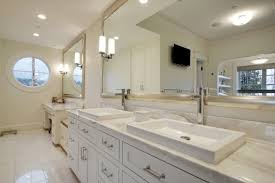 Pinterest Bathroom Mirrors White Framed Bath Vanity Mirror Pictures To Pin On Pinterest