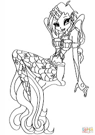 Winx Coloring Pages 10 Free Printable Winx Club Coloring Pages