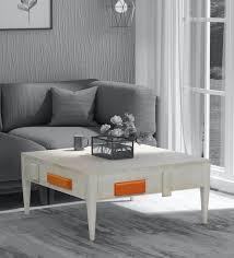 lynx solid wood compact coffee table