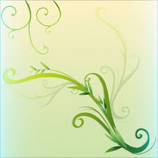 Green Vine Leaf Border Design Vector Free Download