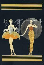 Artist: Ert. Style: Art Deco. Romain de Tirtoff (