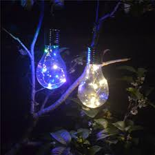 2018 outdoor solar light bulb outdoor garden camping hanging light led wedding party decoration waterproof lamp bulb from lighting2017 4 33 dhgate com