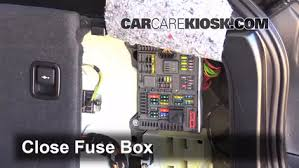 replace a fuse 2007 2013 bmw x5 2013 bmw x5 xdrive35i 3 0l 6 6 replace cover secure the cover and test component