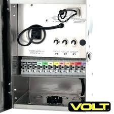 low voltage outdoor lighting timer sensor transformer tr series volt kits with landscape