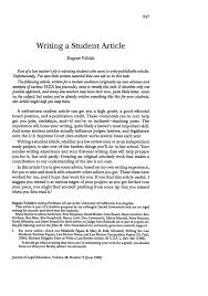 writing a student article journal of legal education  what is heinonline