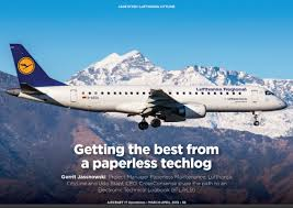 Getting The Best From A Paperless Techlog Aircraft It