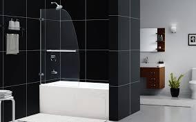 aqua tub uno door clear glass 34