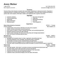 Best Executive Assistant Resumes Best Store Administrative Assistant Resume Example Livecareer