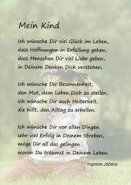 Gedichte Deutsch Sprüche Kinder Sprüche Und Baby Sprüche