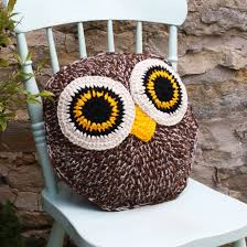 Owl Pillow Pattern 36 Inspiring Crochet Pillow Patterns Patterns Hub