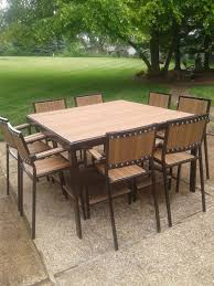 industrial style outdoor furniture. Industrial Style Patio Or Deck Set - Table And Chairs Customizeable! Outdoor Furniture R