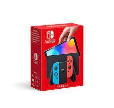 Nintendo Switch (OLED-Modell) Neon-Rot/Neon-Blau : Amazon.de: Games