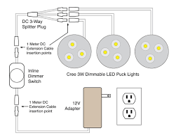 88light cree 3 watt dimmable led puck light wiring diagrams cree 3 watt dimmable led puck light wiring diagrams
