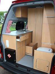 small campervans with toilet and shower vw campervan