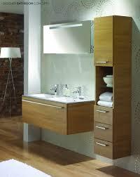 modular bathroom furniture bathrooms. Captivating Furniture Bathroom Modern Brown Plywood Floating Vanity With Double White Washbasin And Freestanding Towel Bath Modular Bathrooms I