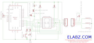 brushless dc bldc motor arduino part 3 the stroboscope arduino stroboscope circuit diagram