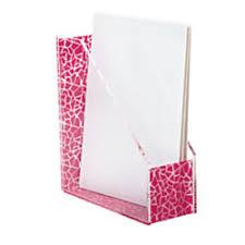 office depot magazine rack. Realspace™ Acrylic And Fabric Magazine Holder, 11 5/16\ Office Depot Rack