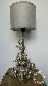 Evil Robot Designs Alien Lamp Lampe Figurines Daction By Dans Le Jardin De Petite Purpe