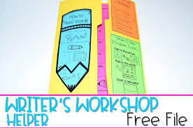Writers Workshop Helper Free Checklist Word Wall And More