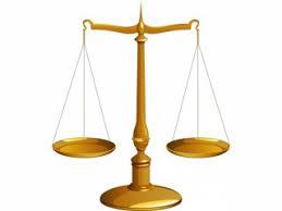 Bilancia come simbolo di equilibrio