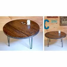 This made for a much easier move and allowed us to choose new pieces that fit perfectly in our new space. Round Coffee Table With 3bar Hairpin Legs Jane