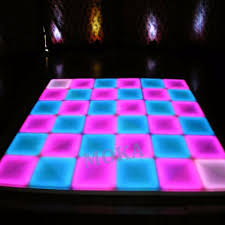 Us 3360 0 16pcs Lot 1m 1m Rgb Led Dance Floor Dmx 512 Controller Good Effect Led Dance Floor Panels For Wedding Events In Stage Lighting Effect From