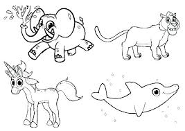 Printable Farm Animal Coloring Pages Coloring Animal Pages For