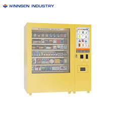Dvd Vending Machines For Sale Delectable China Snack And Drink Self Service Cosmetics DVD Vending Machine For