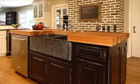 Oak Wood Kitchen Island Counter in Bryn Mawr Pennsylvania. White Oak Wood  Countertop