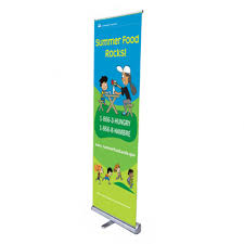 Retractable Display Stands Narrow width retractable banner stand Increase your traffic at 34
