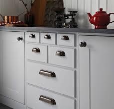 Timeless Classic Kitchen Cupboard Door Handles In Rubbed Bronze Look