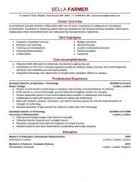 Resume Template For Education Lcysne Com