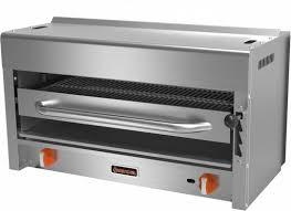 sierra srs 36 countertop gas salamander broiler 39in w 2 burners 40 000 btu restaurant equipment and supplies restaurant depot