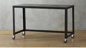 cb2 office. Go Cart Carbon Rolling Desk In Office Furniture Reviews CB2 Throughout Table Ideas 0 Cb2 W