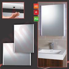 Bathroom Mirror Demister Led Bathroom Mirrors With Demister