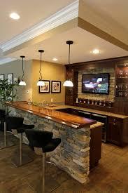 incredible basement bar decor wall sports furniture home