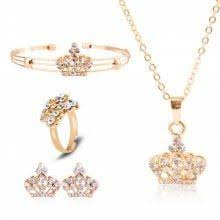 <b>AINUOSHI 10K Solid Yellow</b> Gold Wedding Ring Sets Round Cut ...