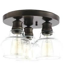 3 light flushmount schoolhouse 3 light inch oil rubbed bronze flush mount light ceiling light 3