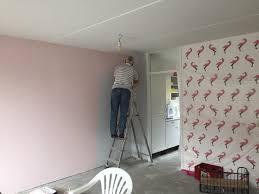 Superkek Mijn Flamingo Behang En Roze Muur Marstyle