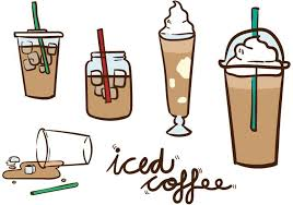 iced coffee clipart black and white.  White Cool Clipart Cold Coffee Svg Black And White Download Inside Iced Coffee Clipart Black And White